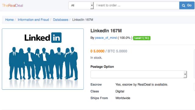 LinkedIn sell
