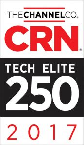 Secure Sense Named One of 2017 Tech Elite Solution Providers by CRN®