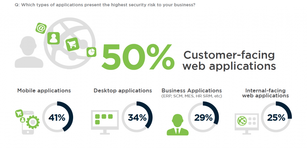 Addressing the increasing risk of web applications