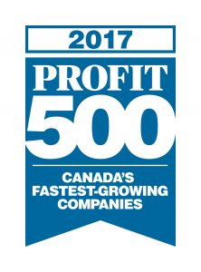 Secure Sense Ranks as Fastest-Growing Information Technology Firm on 2017 PROFIT 500 For Second Consecutive Year.